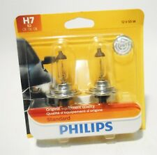 Philips H7 B2 12v 55w Standard Replacement Bulbs 2-Pack