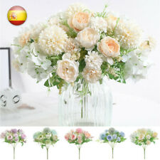 Ramo de flores artificiales flor decoración bouquet artificial flower decoration