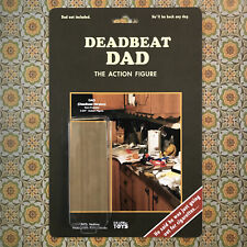 Deadbeat Dad Action Figure Death By Toys Satire Joke Toy Obviousplant Rare