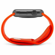 ORANGE Silicone Sport Band Strap For Apple Watch Series 5,4,3,2,1 38/40/42/44 mm