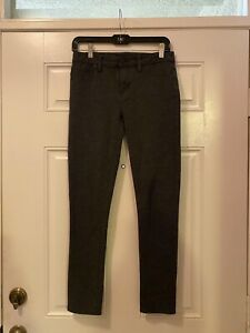 Calvin Klein Jeans Brand Charcoal Gray Jeggings Flat Front Size 4
