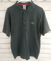 The North Face Men's Shirt Short Sleeve Polo Gray TShirt Size Large