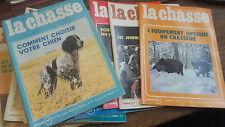 La revue nationale de la chasse 1976 année complète 12 revues
