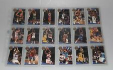 1992-93 Fleer Sharpshooter 18 card insert basketball set