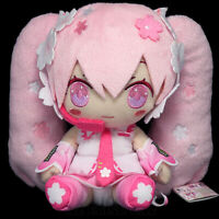 Vocaloid SAKURA HATSUNE MIKU Plush Doll Smile Version Limited Japan 16cm6.5""