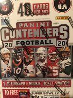 2020 NFL Panini Contenders Football Blaster Box Factory Sealed *Brand New*