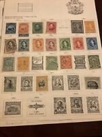 Costa Rica Old Stamp Collection Lot