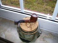 "MASTER of Pipe Nils Thomsen-Berlin-Germany 9mm Filter HANDMADE -FREEHAND "" C """