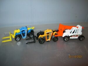 Matchbox-LIFT TRUCK & LOAD LIFTER...lot of 3