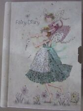Girls Fairy Lockable Diary/Note Book/Journal-Hard Cover Birthday Gift Christmas