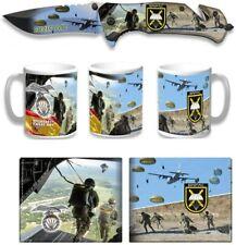 Set Navaja ALBAINOX Brigada Paracaidista,Cartera Diseño 3D y Taza Diseño BRIPAC