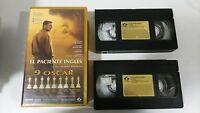 EL PACIENTE INGLES DOBLE VHS EDICION ESPECIAL COLECCIONISTA EDICION ESPAÑOLA