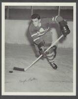 1945-54 Quaker Oats Photos Toronto Maple Leafs #10 Hugh Bolton/Home Action