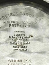 Oyster Date 34 Reference 7944 Case back for Tudor Prince