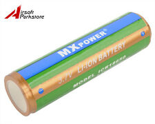 MX Power 2400mAh 18650 3.7V Protected PCB Rechargeable Li-ion Battery for Torch