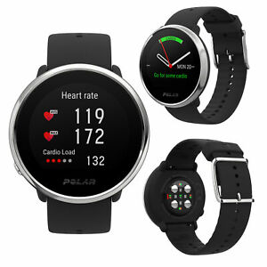 Polar Ignite Black M/L Smart GPS Running Swimming Cycling Multi Sports Watch