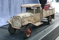 Buddy L Wrecking Tow Truck - Pressed Steel - 1930s - USA