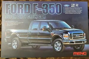 Meng1/24 Ford F-350 Super Duty Crew Cab New Rare out of Production USA seller