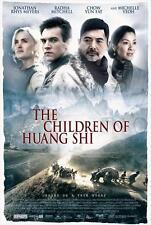 CHILDREN OF HUANG SHI Movie POSTER 27x40 C Jonathan Rhys Meyers Radha Mitchell