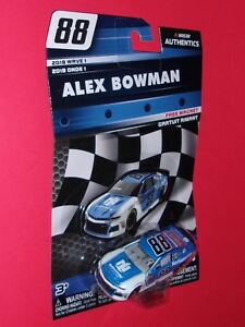 ALEX BOWMAN #88 Nationwide 1:64 Nascar Authentics 2018 Wave 1 Chevrolet Camaro