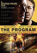The Program DVD NEW Ben Foster Chris O'Dowd Story of Lance Armstrong Rated R