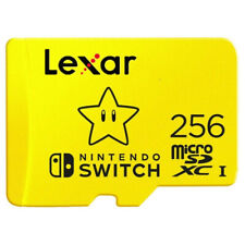 Micro SD Lexar Class 10 Nintendo Switch + Adattatore Card + Adattatore USB