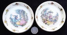 Vintage par de Lord Nelson baldaquines Pin platos Coleccionable