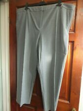 """Ladies Grey Trousers, size 22 Short (27""""), TU Premium collection with stretch"""