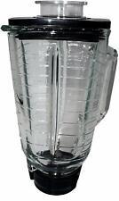 Blendin 5 Cup Square Glass, Blade, Gasket, Base, Lid. Compatible Oster Blenders