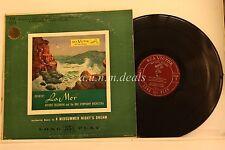 """Arturo Toscanini -  Debussy La Mer - RCA Victor Records  LP 12"""" (VG)"""