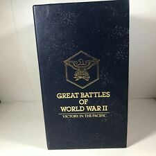 Readers Digest Great Battles of WWII Pacific VHS 4 Vol Set