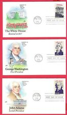 Scott #2216-2319 1986 Ameripex First Day Covers Art Craft of The Presidents
