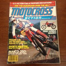 MOTOCROSS ACTION JANUARY 1983  HUSKY 500CR MAICO 250 MXDN CZ CHAMPIONSHIPS AHRMA