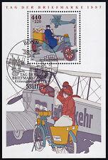 Bund Block 41 FDC SStpl. Tag der Briefmarke 1997