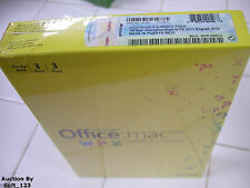 MS Microsoft Office MAC 2011 Home and Student Family Pack For 3MACs =SEALED BOX=