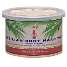 10 Jars - Gigi  Brazilian Body Hard Wax 14oz/396g
