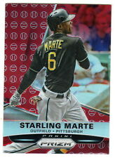 2015 Panini Prizm Retail RED BASEBALL REFRACTOR Prizms STERLING MARTE Pirates
