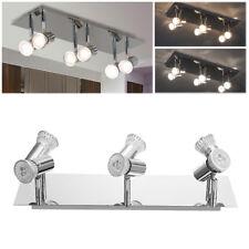 Adjustable 6 Way Ceiling Spotlights Bar Track Lights Fitting for LED GU10 Bulbs