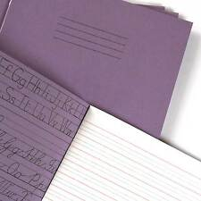 Handwriting Exercise Books: 5pk, Help with handwriting paper: 4mm guide lines
