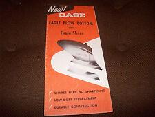 J.I. Case Eagle Plow Bottom With Eagle Share Brochure