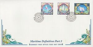 GUERNSEY SHIPPING DEFINITIVES PART 3 2000 FIRST DAY COVER - NO ADDRESS