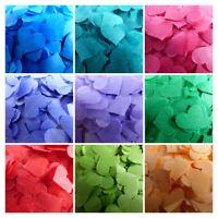 Beautiful Wedding Tissue Paper Hearts FILL CONES Throwing Party Confetti BIO