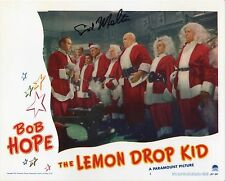 "Bob Hope ""Lemon Drop Kid"" signed photo SID MELTON Christmas classic film RARE"