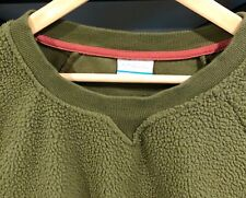 Columbia Sportswear Company WOMEN'S PULLOVER SWEATSHIRT~OLIVE GREEN ~ SIZE LARGE
