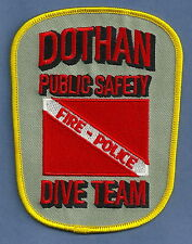 DOTHAN ALABAMA PUBLIC SAFETY POLICE FIRE DIVE TEAM PATCH