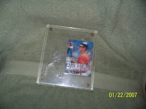 sports card wall/desk plaque  baseball {cal ripken jr}