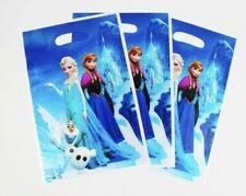 10 Frozen Elsa and Anna Party Gift Bags Candy Favour Bag Loot Bag For Birthday