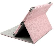 APPLE I PAD 2 & 3  MAGNETIC SMART BOOK LOVE LEATHER COVER CASE STAND--PINK