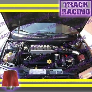 95-00 DODGE STRATUS/CHRYSLER SEBRING/CHRYSLER CIRRUS 2.5L V6 AIR INTAKE KIT Red