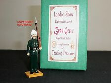 BEAU GESTE Royal Irish RIFLES London Show 2008 METAL Toy Soldier Figure Set